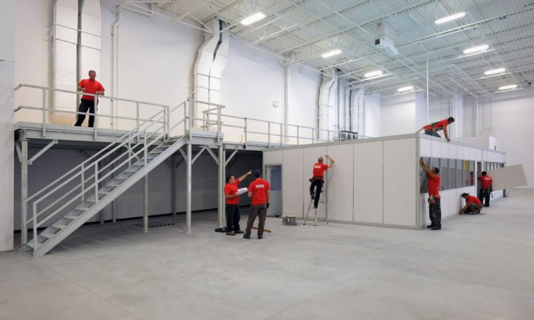 Konecranes Offices & Mezzanine