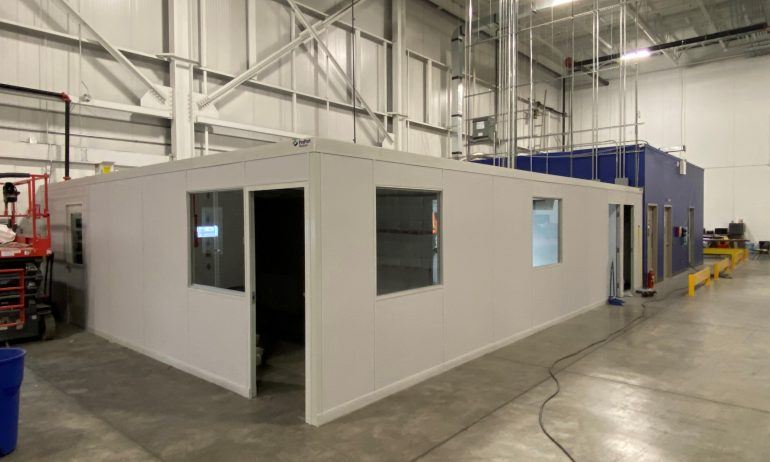 Vision Transport's System 40™ Office Expansion