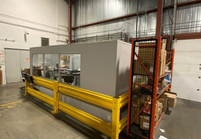 Concept Storage Solutions' System 40 In-Plant Office