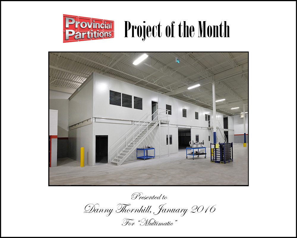 Project Of The Month - Multimatic System 40™ Quality Assurance Lab