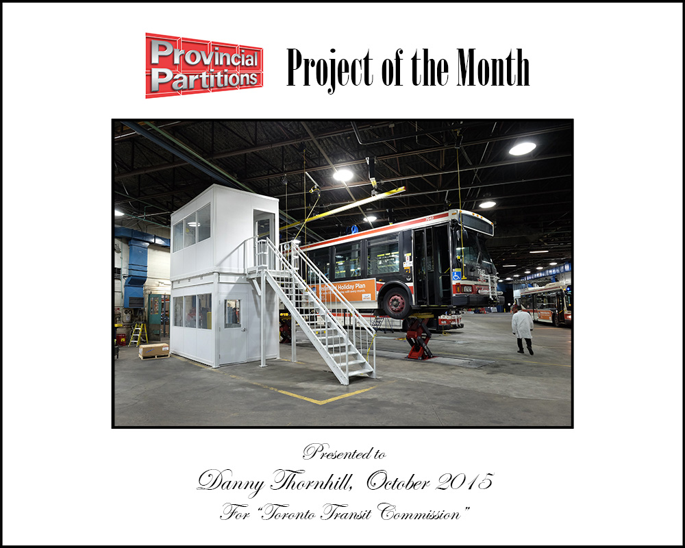 Project Of The Month - TTC 2 Story In Plant Office
