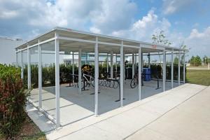 Bird Construction's Custom Bike Shelter