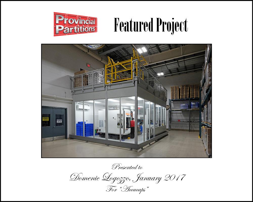Accucaps System 40 CNC Enclosure
