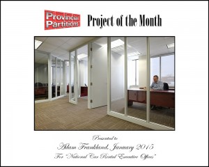 Project of the Month - January 2015