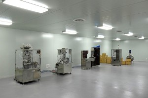 Technophar Clean Room Interior